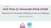 hult prize at ueh challenge