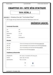 serie html 1