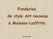 Fichier PDF fonderie art nouveau a maisons laffitte