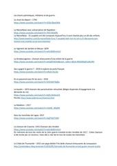 Fichier PDF les chants patriotiques