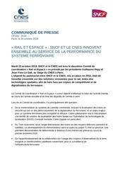 train autonome collaboration sncf cnes