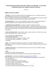 Fichier PDF concours de danse country amical en equipe