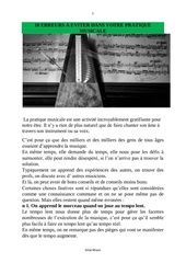 10 erreurs a eviter dans votre pratique musicale
