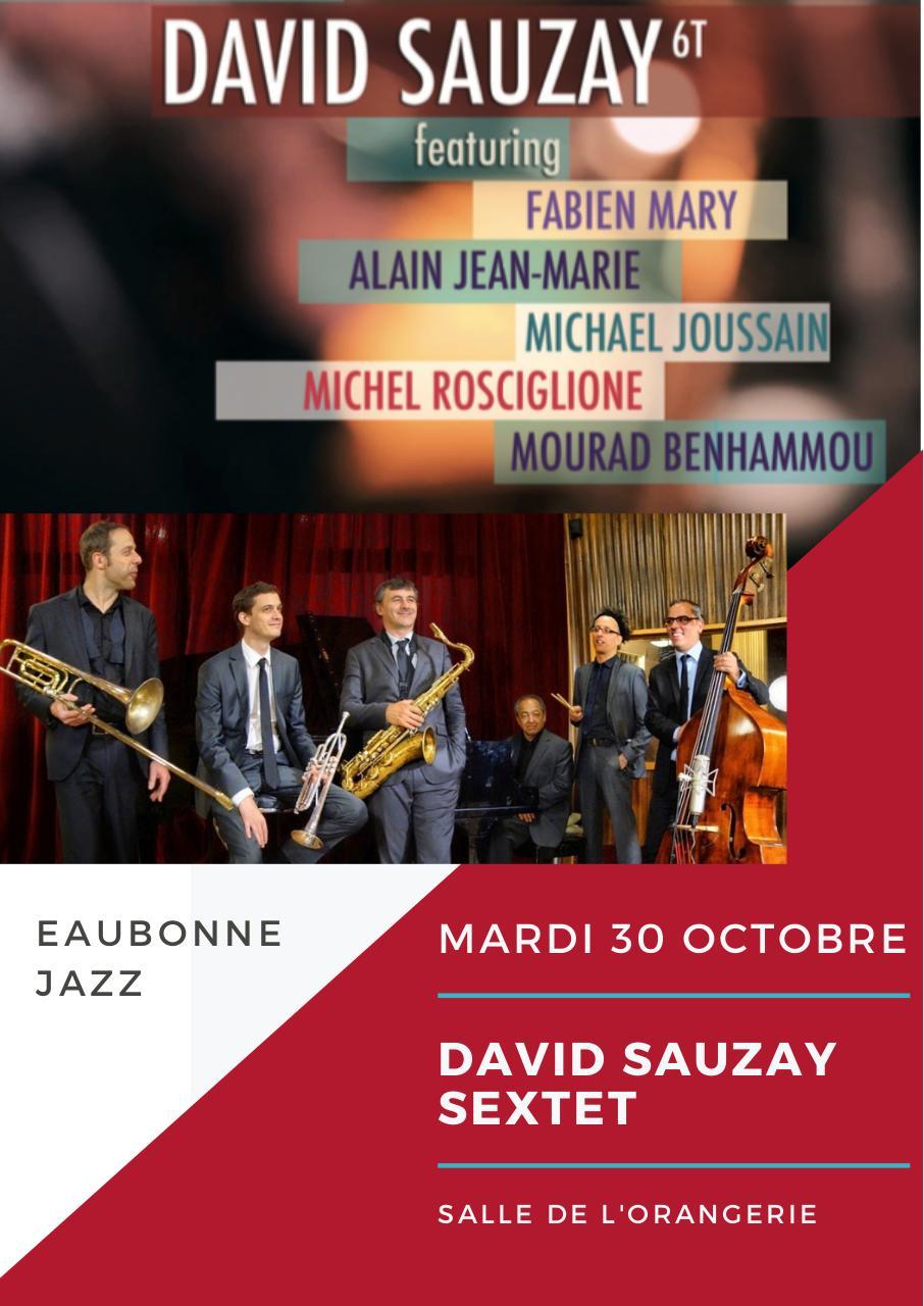 Saxophone Jazz Concert Program Par David Sauzay Turquoise And