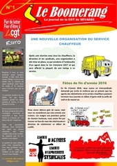 journal du sevadec  n 1
