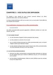 m12   chapitre 3   vos outils de diffusion