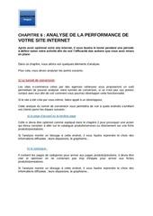 m2   chapitre 6    analyse de la performance