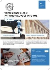 newsletter 4eme trimestre 2018