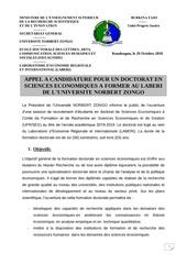 communique doctorat laberi   2018 2019