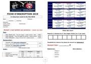 formulaire dinscription cubayonne 2019