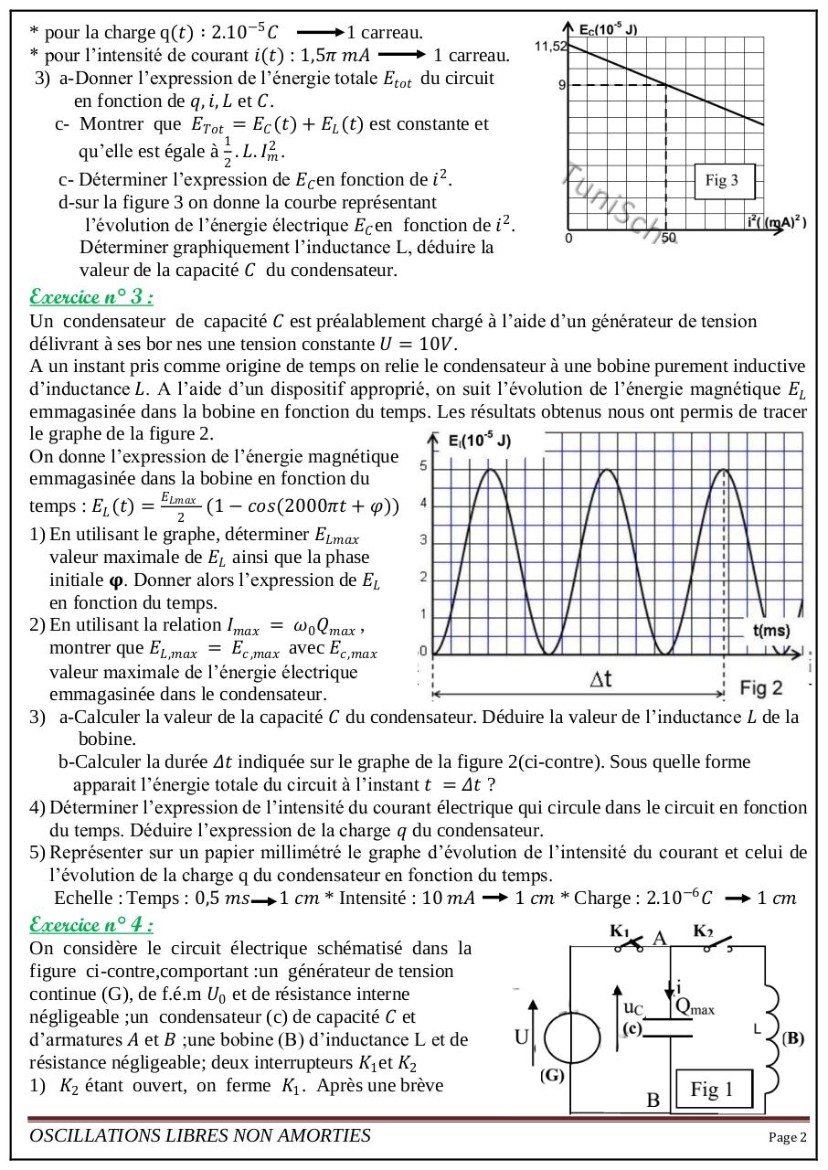 série9 Oscillations libres non amorties.pdf - page 2/4