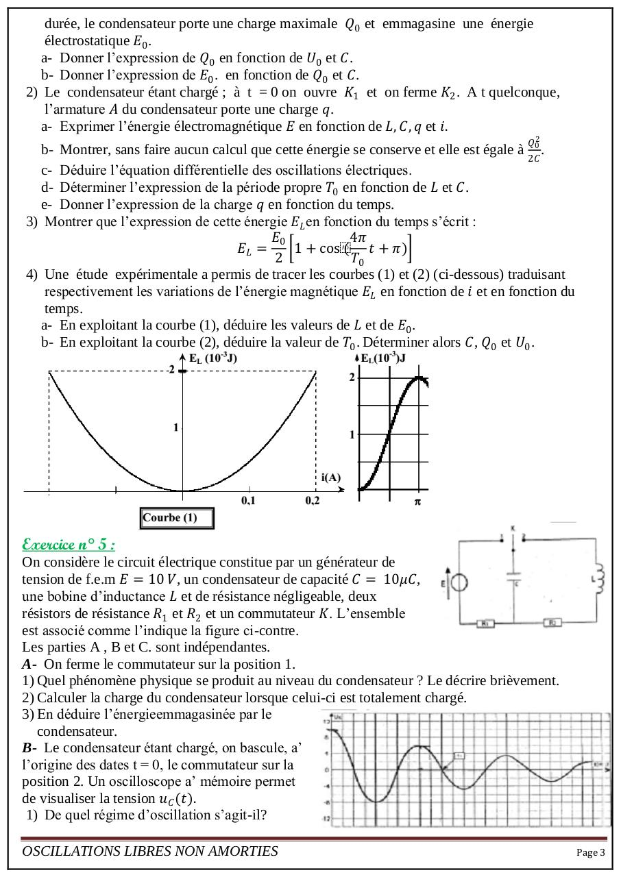 série9 Oscillations libres non amorties.pdf - page 3/4