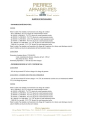Fichier PDF bareme