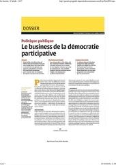 le business de la democratie participative