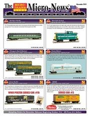 micro trains novembre 2018