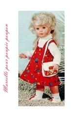 1975 03 mfrancoise robe chasuble et pull