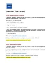 m22  chapitre 6  evaluation