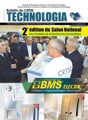 16  revue du crtse technologia n16 septembre 2018