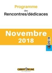 agenda des evenements novembre