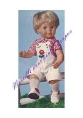 1976 05 michel chemisette et salopette