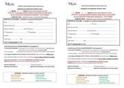 Fichier PDF imprime passeport