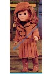 1979 01 mfrancoise veste jupe et bonnet tricotes