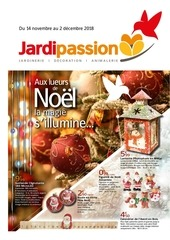 catalogue noel jardipassion 2018