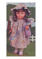 1980 05 mfrancoise robe et chapeau 1