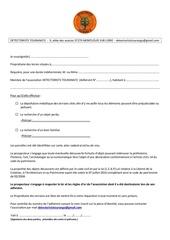 formulaire type de requisition