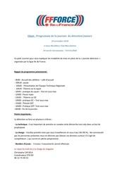 Fichier PDF organisation journee