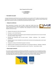 Fichier PDF note dopportunite