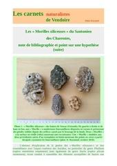 morilles siliceuses santonien charentes d raymond 20182