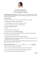 contrat londres 1