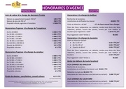 honoraires dagence