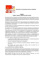 Fichier PDF 20 11 18   declaration de la cgt