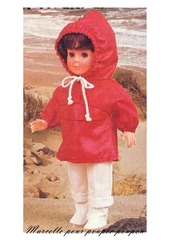 1981 07 mfrancoise tenue pour la pluie
