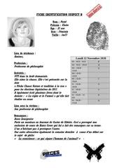 fiche identification suspect b   interrogatoire   patre claire