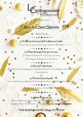 menu st sylvestre 2018