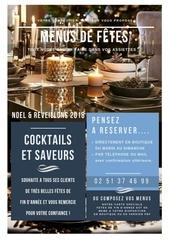 cocktails et saveurs nos menus de fetes 2018