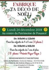 affiche noel 2018 centre du patrimoine