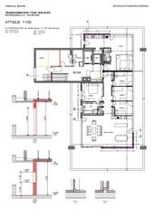 plan attique