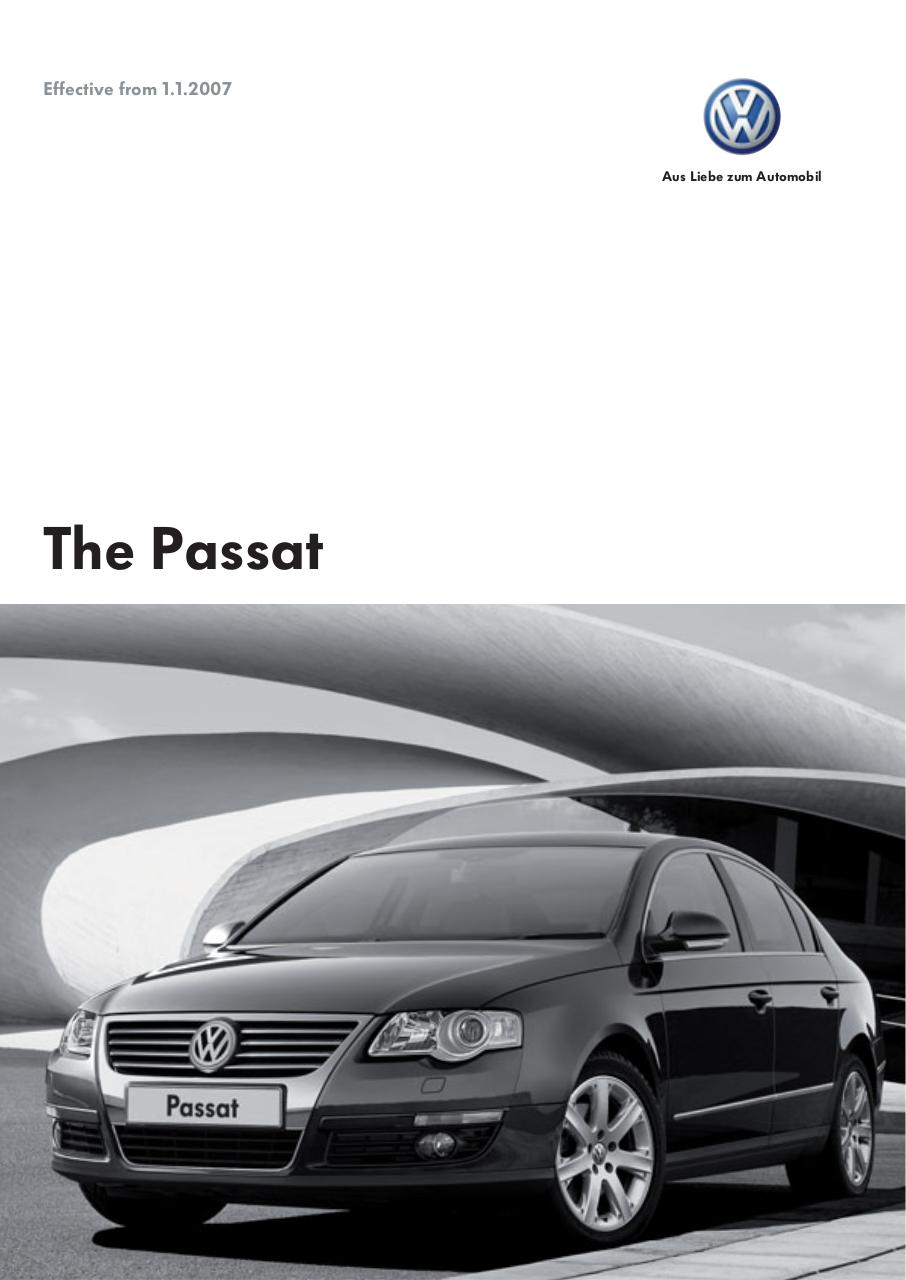 Aperçu du document volkswagen-passat-users-manual-220624.pdf - page 1/16