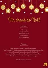 Fichier PDF recette vin chaud