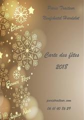 carte de fetes 2018  paris traiteur