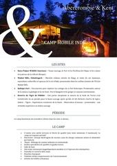 mobil camp india