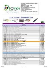Fichier PDF liste des prix decembre  2018