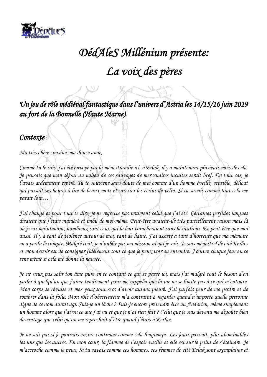 Lettre d'intention - Fichier PDF