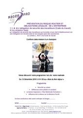 Fichier PDF risque routier inscription