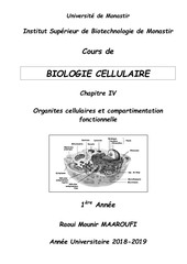 cours polycopie bio cell    chap iv   1e a isbm 2018 2019