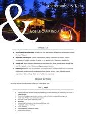mobil camp india   english